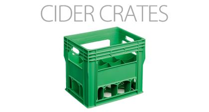 Cider crates