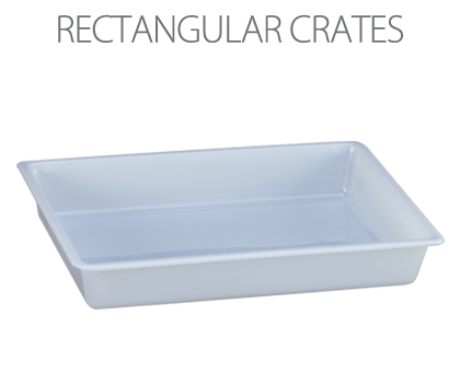 Rectangular crates