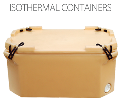 Isothermal containers