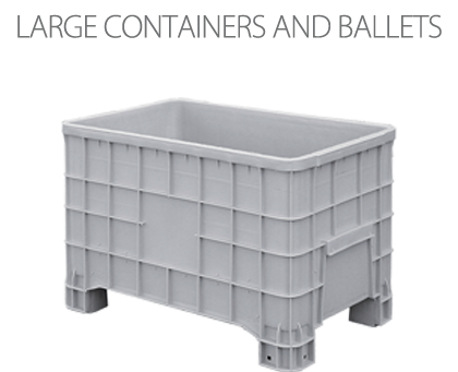 Large containers and ballets