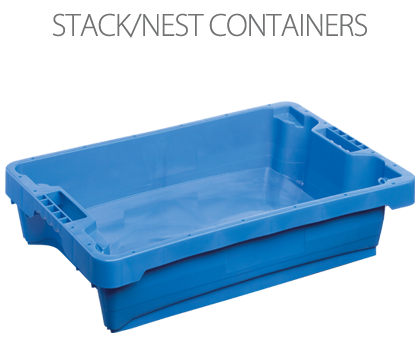 Stack-Nest containers